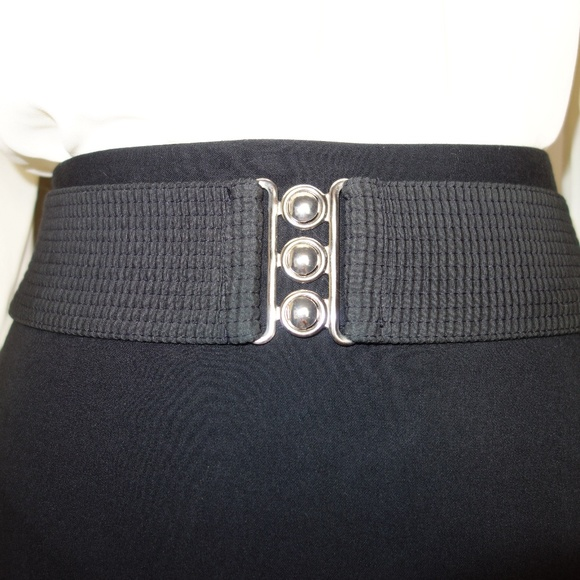 Malco Modes Accessories - Moving Sale! Wide Black Belt